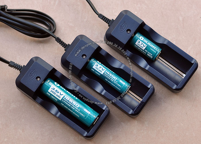 Sạc đơn pin Li-ion 18650 - 3.7V 3